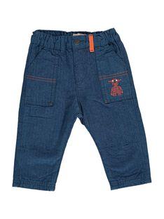 Pantalon bébé garçon DUBLEPAN1 / 18WG1091PAN099