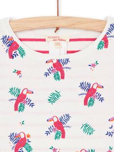 Tee Shirt Manches Longues Ecru LANAUTEE1 / 21S901P1TML001