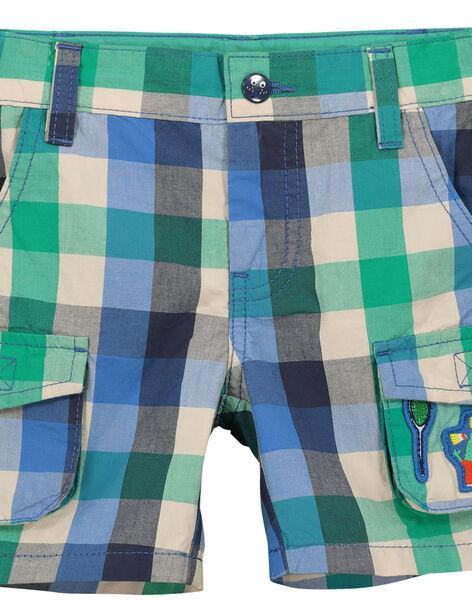 Bermuda fantaisie à poches garçon FOCABER4 / 19S902D4BER205