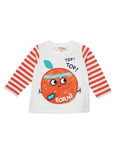 Tee Shirt Manches Longues Ecru JUVITEE / 20SG10D1TML001