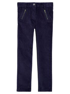 pantalon en velours lisse  GATRIPANT / 19W901J1PAN070