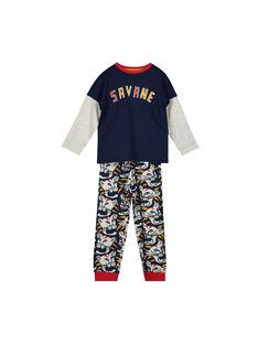 Pyjama en coton garçon FEGOPYJTIG / 19SH129APYJ070