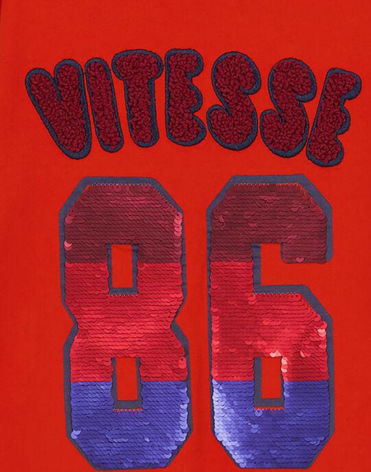 Tshirt Manches longues Orange GOSANTEE2 / 19W902C1TML405