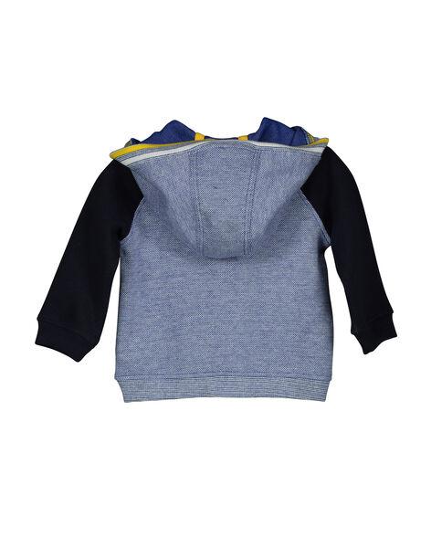 Gilet zippé à capuche bébé garçon FUCOHOJOG / 19SG1082GIL099
