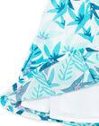 Robe sans manche, imprimé feuillage LAVEROB3 / 21S901Q1ROB001