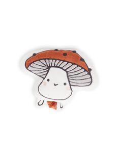 Peluche motif champignon doux naissance mixte MOU1BOI2 / 21WF4241JOU001