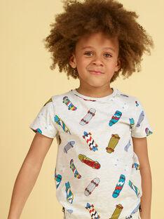 Tee Shirt Manches Courtes Gris LOPOETI1 / 21S902Y2TMCJ920