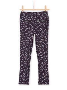 Pantalon fourré à imprimé floral KABOPANT1 / 20W901N1PANJ916
