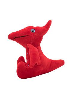 Peluche dinosaure velociraptor-rouge JVelociraptor r / 20T8GG14PE2099