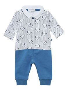 Ensemble chemise + legging naissance garçon JOU1ENS3 / 20SF04J1ENS000