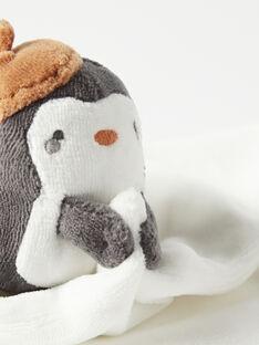 Doudou carré pingouin KOU2DOU2 / 20WF4222JOU001