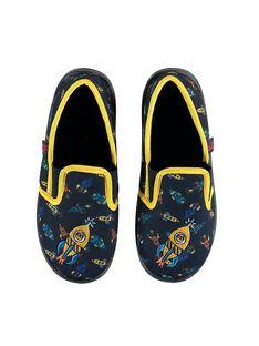 Slippers Bleu marine KGSGFUSEE / 20XK3682D0B070