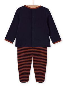 Ensemble pyjama motif chien bébé garçon MEGAPYJDOG / 21WH1481PYJC205