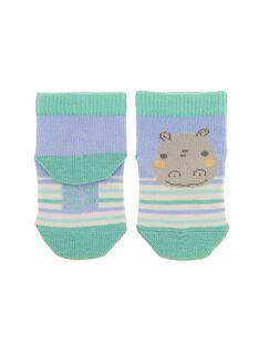 Chaussettes mi-hautes bébé garçon CACGCHO2 / 18SF41C1SOQ020