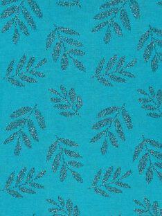 Cardigan en jacquard lurex à motif feuilles LAVERCAR / 21S901Q1CARC216
