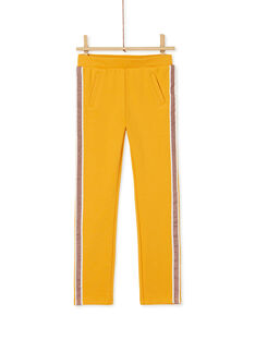 Pantalon en milano avec bande en lurex sur les côté KAJOMIL2 / 20W90151D2B107