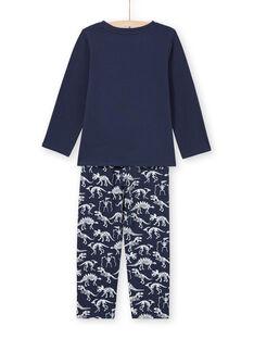 Pyjama Bleu marine MEGOPYJGLOW / 21WH1236PYJ705