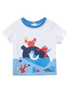 Tee Shirt Manches Courtes Ecru JUCEATI1 / 20SG10N3TMC001