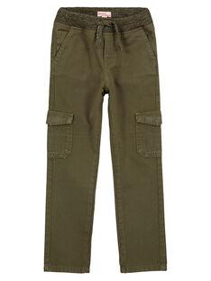 Pantalon Cargo Elastiqué KAKI GOJOPAMAT2 / 19W9024BD2B604