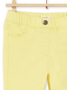 Pantalon Jaune LAJOJEG4 / 21S90141D2B116