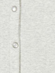 Cardigan gris chiné fourré et à paillettes KAJOCARM2 / 20W90153D3C943