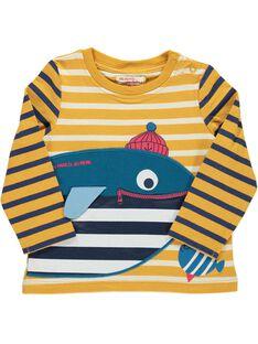 Tee-shirt manches longues bébé garçon DUNAUTEE1 / 18WG10G1TML099