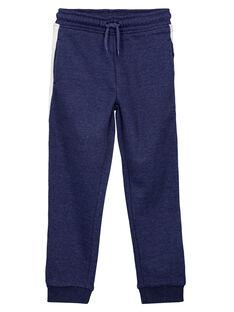 Pantalon de Jogging BLEU CHINE GOJOJOB4 / 19W90231D2A222