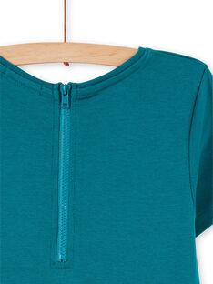 Robe Turquoise LAJOROB4 / 21S90132D2FC216