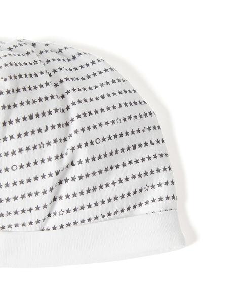 Bonnet naissance en double jersey KOU1BON / 20WF4211BNA001