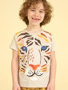 Tee Shirt Manches Courtes Ecru LOTERTI4 / 21S902V2TMC007