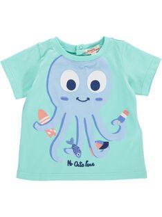 Tee-shirt manches courtes bébé garçon CUBUTI2 / 18SG10K2TMC630