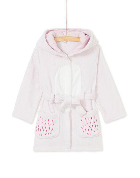 Robe de chambre enfant fille motif chouette KEFAROBOWL / 20WH11C1RDCH705