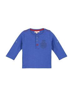 Tee-shirt col tunisien bébé garçon FUJOTUN2 / 19SG1032TMLC207