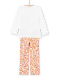 Pyjama Ecru MEFAPYJLEO / 21WH1133PYJ001