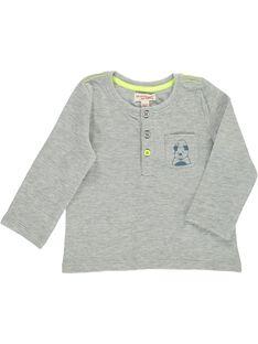 Tee-shirt manches longues bébé garçon CUJOTUN2 / 18SG10R4TMLJ906