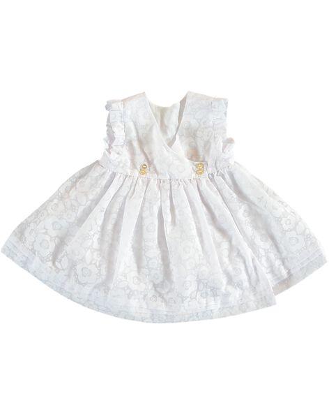 Robe Blanche De Ceremonie Bebe Fille Robe Bebe Dpam