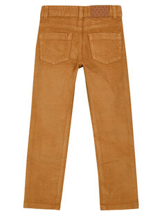 Pantalon En velours Camel Regular GOJOPAVEL7 / 19W902L4D2BI820