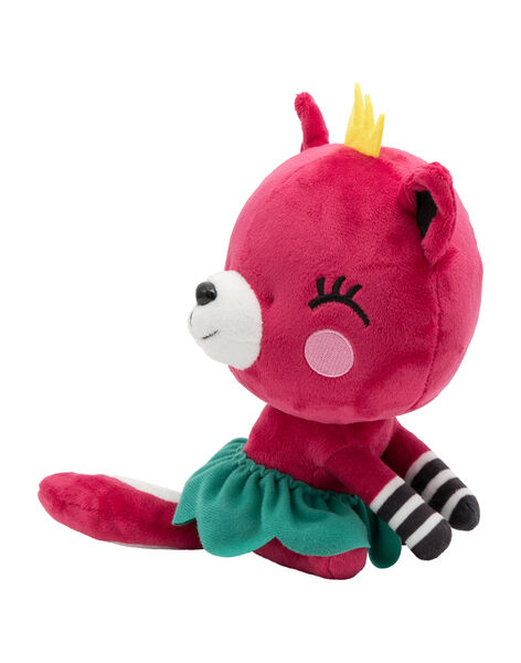 Peluche chat magenta Jpeluche chat / 20T8GF12PE2099