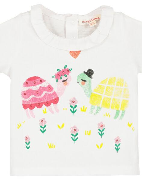 Tee-shirt imprimé bébé fille FIYEBRA / 19SG09M1BRA000