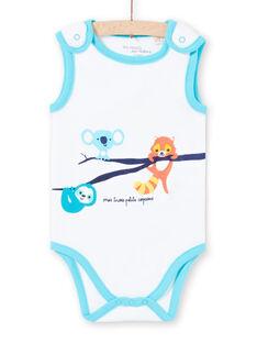 Body sans manches à motifs animaux bébé garçon LEGABODAMI / 21SH14G2BDL000