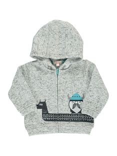 Gilet zippé à capuche bébé garçon DUGIGIL / 18WG10N1GIL099