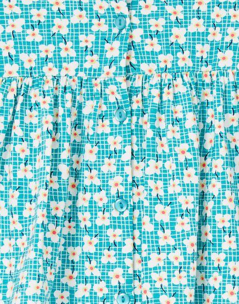Robe Turquoise LIVERROB3 / 21SG09Q4ROBC216
