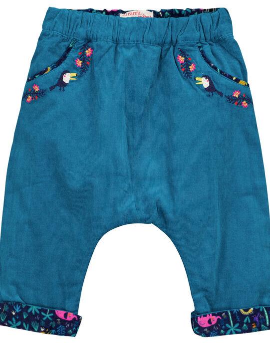 Pantalon Bleu marine GIMUPAN / 19WG09F2PAN070