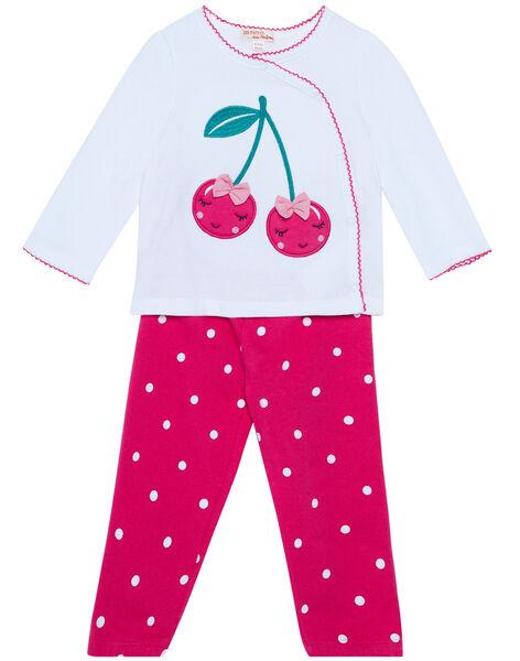 Pyjama Blanc JEFIPYJCER / 20SH1321PYJ000