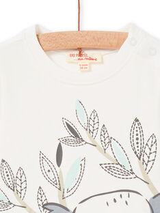 Tee Shirt Manches Longues Ecru LUPOETEE3 / 21SG10Y1TML001