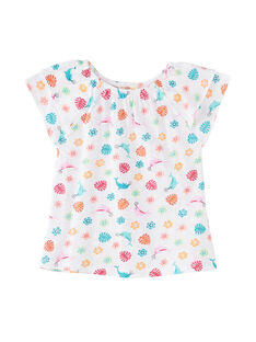 Tee Shirt Manches Courtes Blanc JAQUATI2 / 20S901R2TMC000