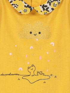 Tee-shirt col Claudine bébé fille FILIBRA / 19SG0921BRA103