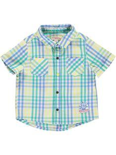 Chemise à carreaux bébé garçon CUBUCHEM / 18SG10K1CHM099