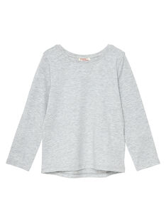 Tee Shirt Manches Longues Gris chiné JAESTEE3 / 20S90164D32943