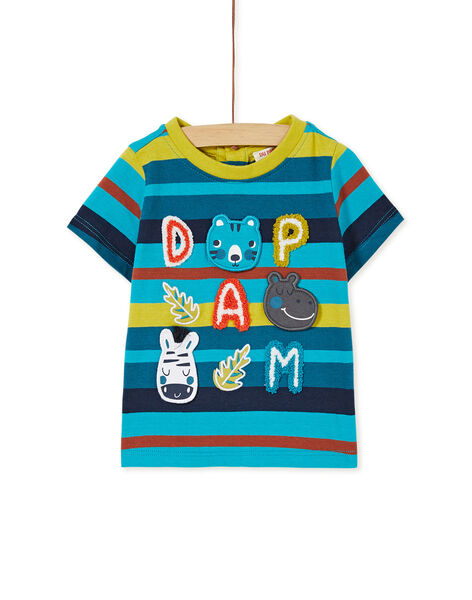T-shirt manches courtes rayé KUBRITEE3EX / 20WG10F1TMC202
